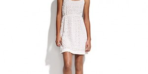 "The ""Circlelace Dress"" by Madewell ($148) is a light option perfect for a casual walk through the Central West End (Image courtesy of Madewell.com)."