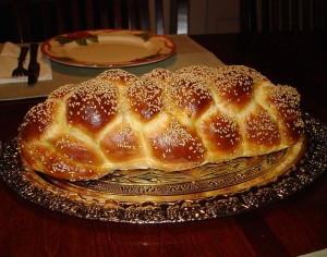 Courtesy of Aviv Hod http://commons.wikimedia.org/wiki/File:Challah_Bread_Six_Braid_1.JPG