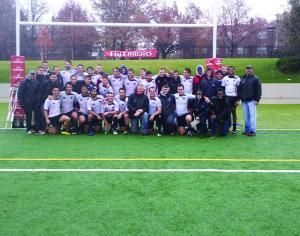 Rugby team reaches national  tournament for third straight season