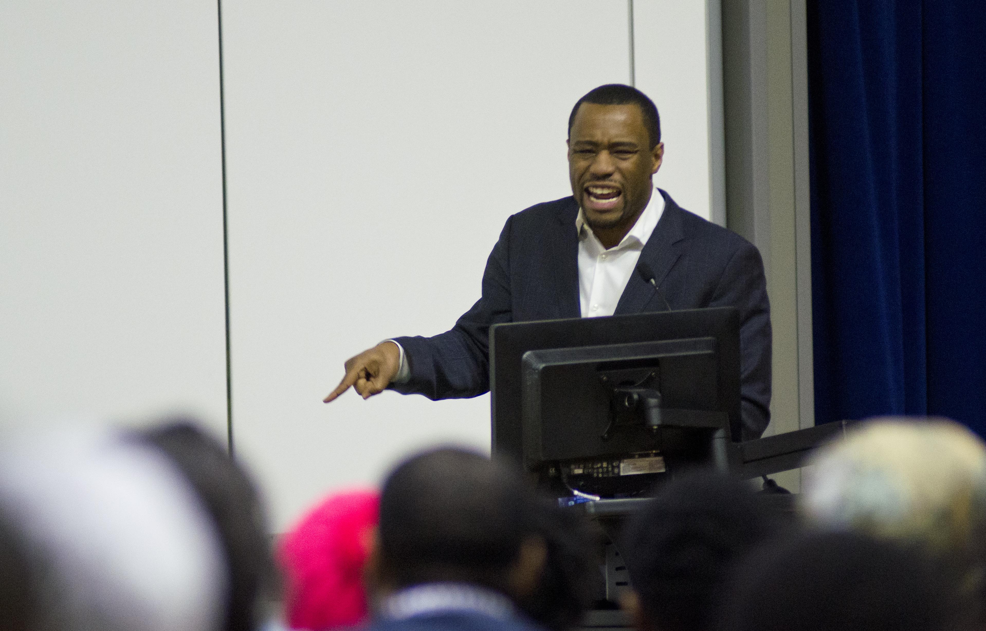 BSA hosts Dr. Marc Lamont Hill