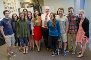 UNews bids farewell to a  cornerstone of SLU journalism