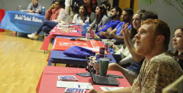 Political science department hosts debate watch party
