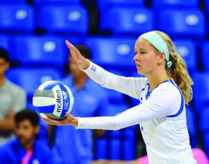 Volleyball rediscovers winning form, dominates Davidson and VCU