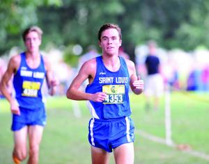 Pretty in pink: Men's cross country captures third team title