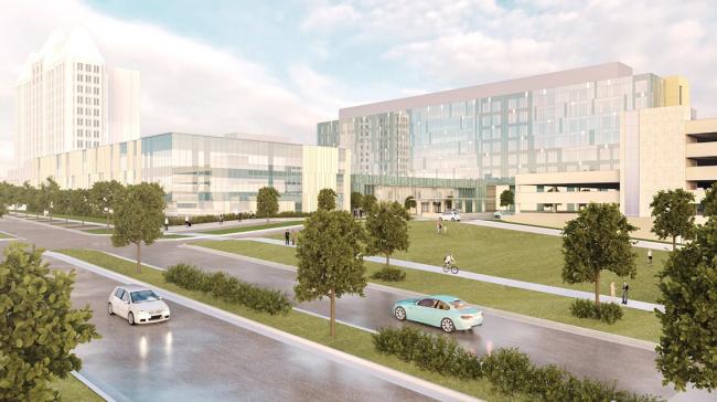 New SLU Hospital will open its doors in 2020