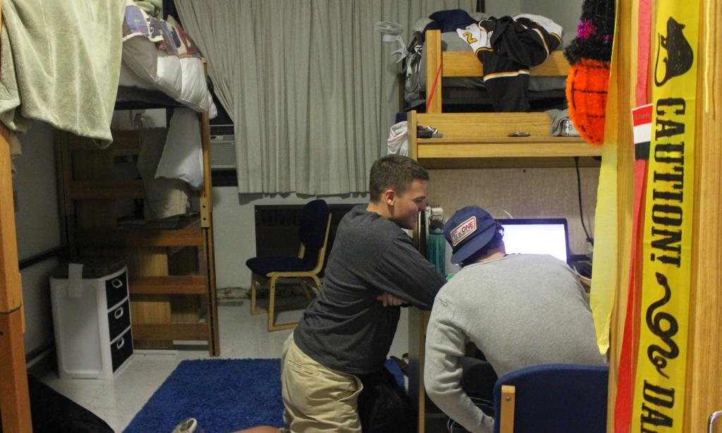 Dorm Life: Greis is on track to be refurbished along with the new building being erected. Emma Kelley / Staff Photographer